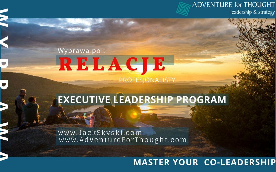 Wyprawa po RELACJE – Executive Presence Expedition